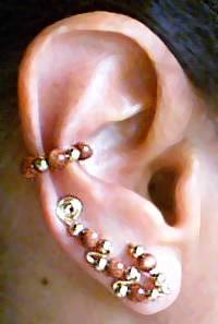Ear Sweep with Ear Cuff