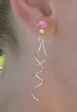 Dangle With Ear Stud - Front